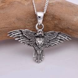 P338 -Flight Of The Raven pendant