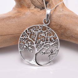 P778 - Silver tree Of Life pendant
