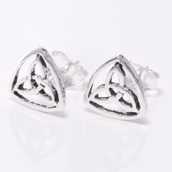 S228 - Celtic Triquetra stud earrings