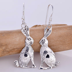 E323 - Moon Gazing Hare earrings