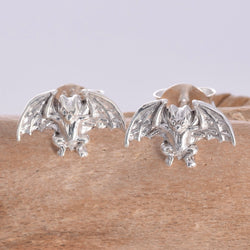 S301 - Vampire Bat Stud Earrings
