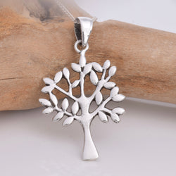 Java Designs Silver Tree Pendant