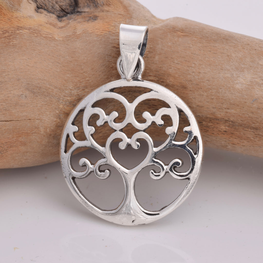 P571 - Silver Tree Of Life pendant