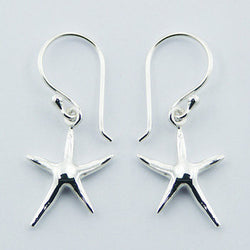 E197 - Starfish drop earrings