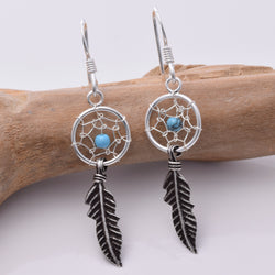 E282 - Dreamcatcher 10mm Earrings