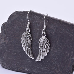 E449 - Angel wing design 925 silver pendant