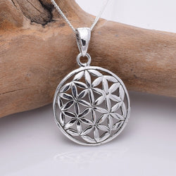 P288 - Flower Of Life Pendant