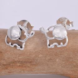 S559 - Elephant stud Earrings
