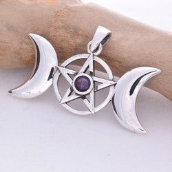 P400 - Triple Moon pendant