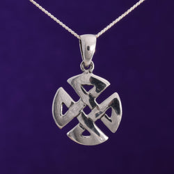 P587 - SALE - Celtic knot pendant