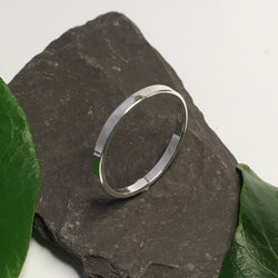 R093 - Sterling silver thin band ring
