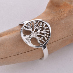 R117 - Tree of life ring