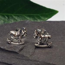 S330 - Rocking Horse stud earrings