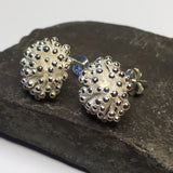 S375 - Chrysanthemum stud earrings