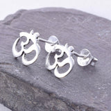 S400 - Ohm design stud earring