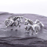 S402 - 925 Unicorn stud earrings