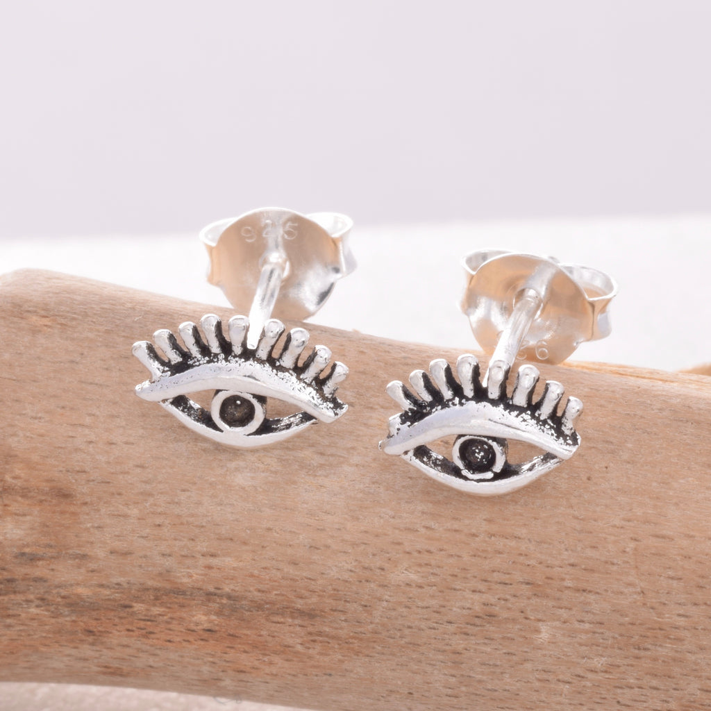 S452 - All Seeing Eye stud earrings