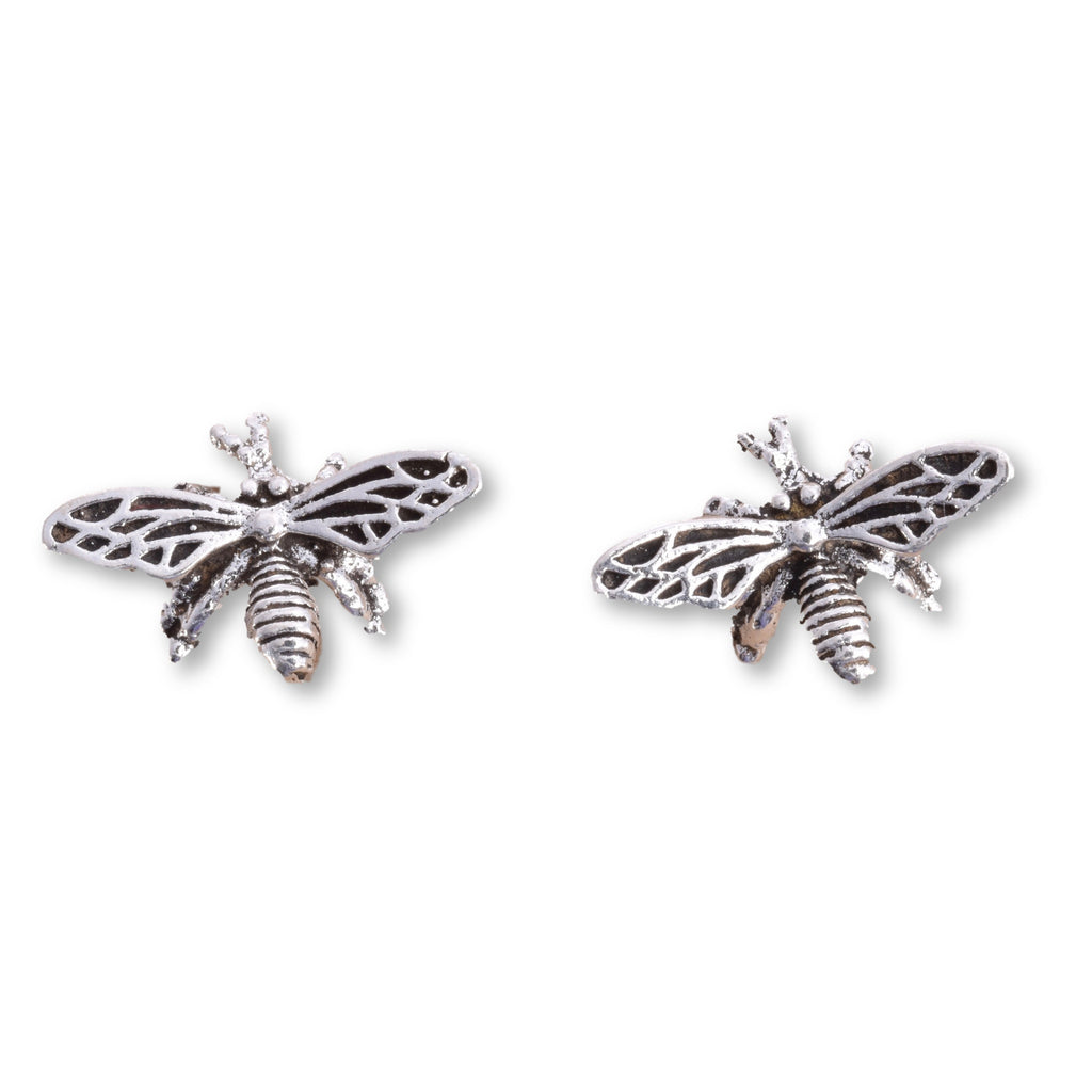 S532 - Bumble bee stud earrings