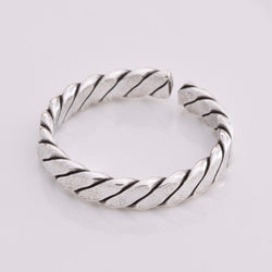 TR055 - Braid design toe ring
