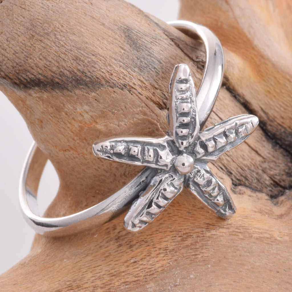 TR057 - Starfish design toe ring