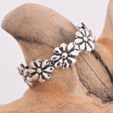 TR060 - Flower band toe ring