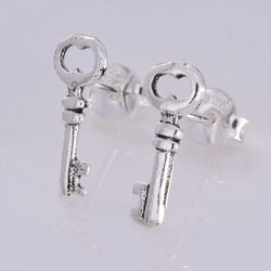 S573 - Key stud earrings