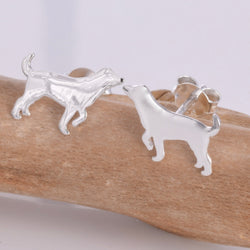 S582 - Labrador stud earrings