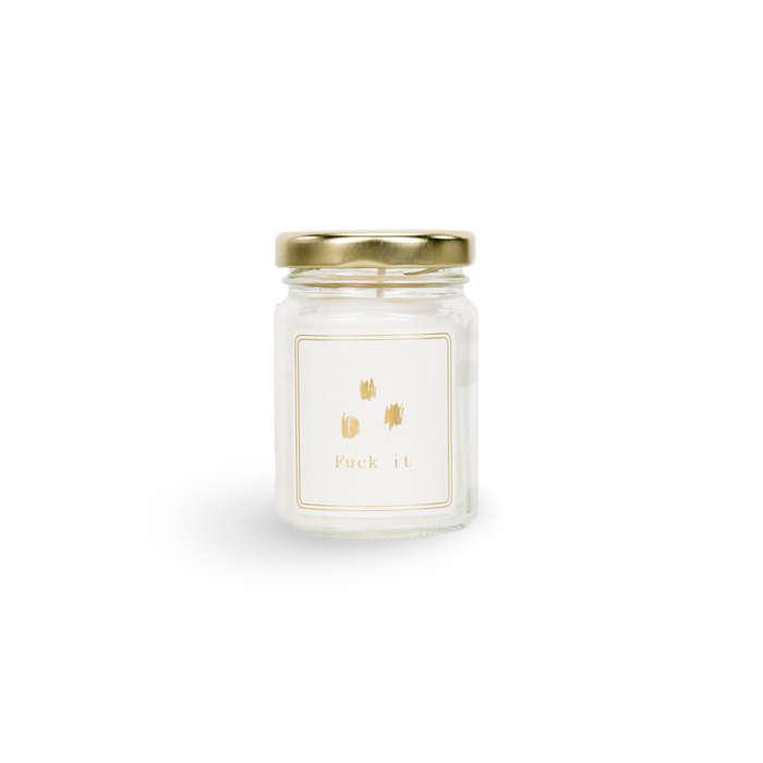 FUCK IT Scented Candle (mini)