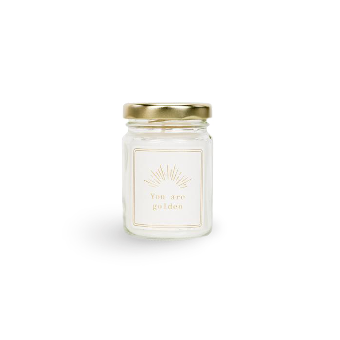 YOU ARE GOLDEN Mini Moments Scented Candle