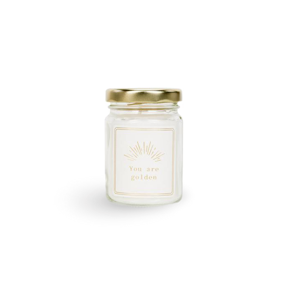 YOU ARE GOLDEN Scented Candle (mini)