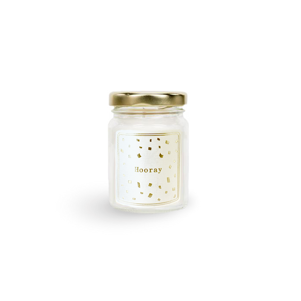 HOORAY Scented Candle (mini)