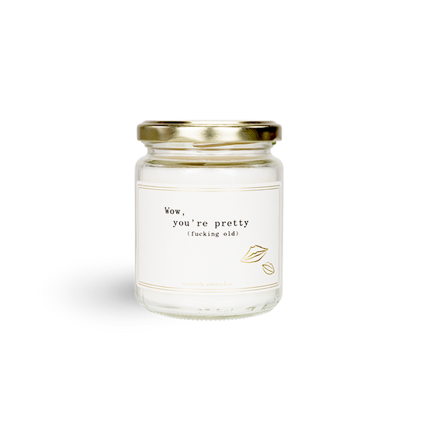 Wow, You're Pretty Scented Candle in A Jar (Medium)