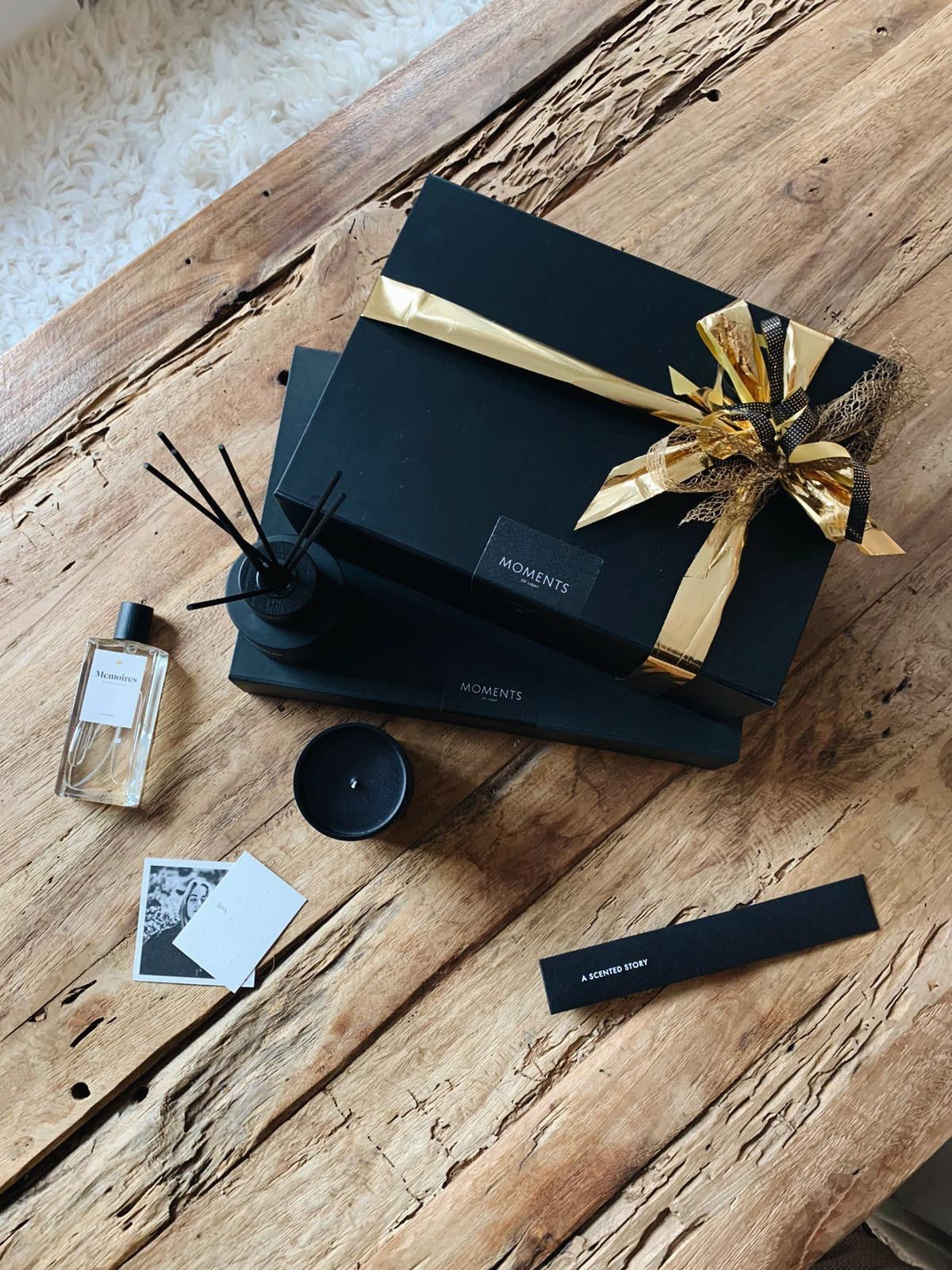 Giftbox Memoires Bois de Santal