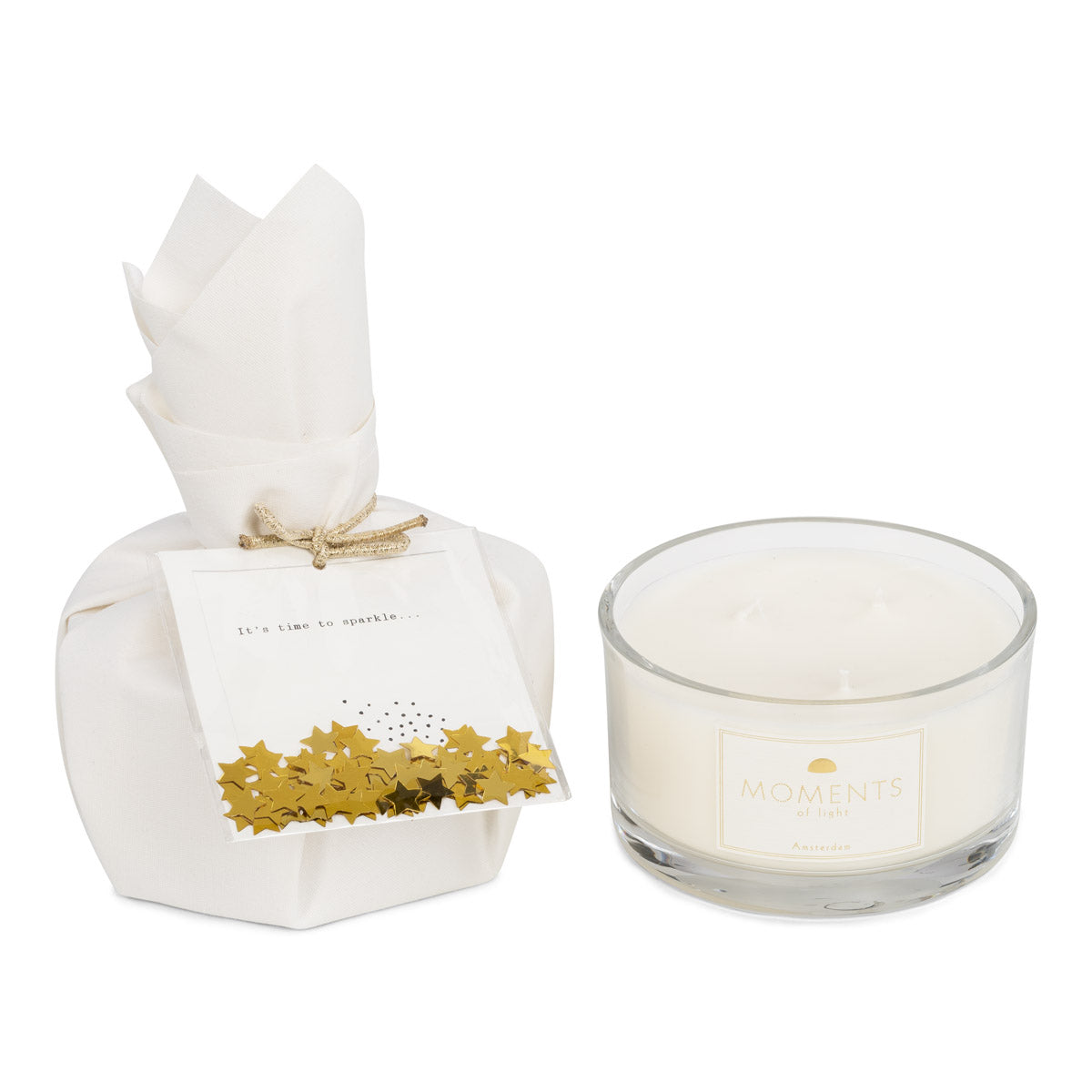 'Moments of Sparkle' Scented Candle