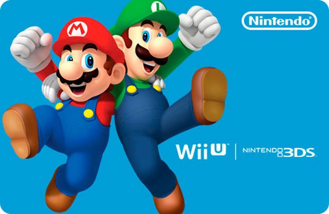nintendo eshop cards, codes and vouchers