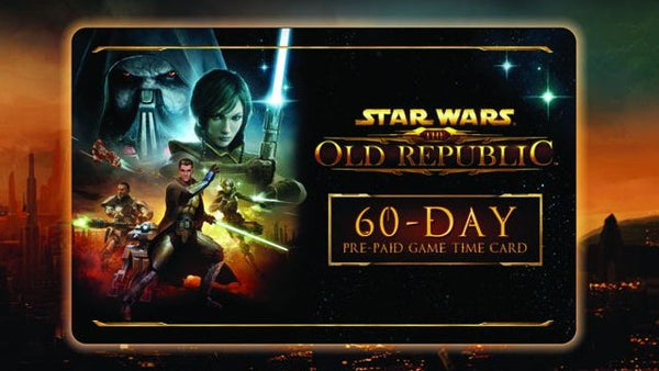 Star Wars The Old Republic Time Card