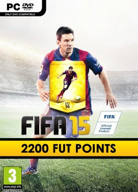FIFA 15 - 2200 FUT Points - Digizani
