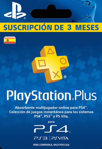Playstation Plus - Suscripción De 3 Meses (Spain)