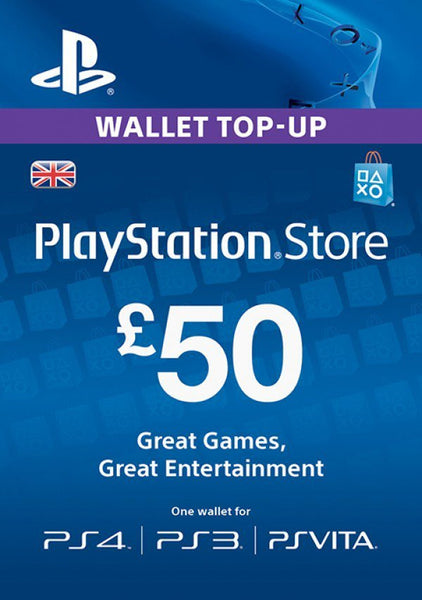 PSN Network Subscription Key - £50 (UK)