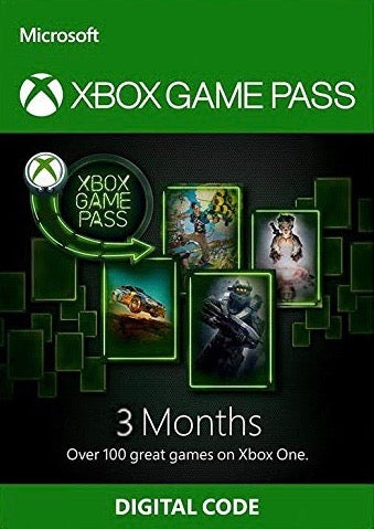 Xbox Game Pass 3 Month Trial