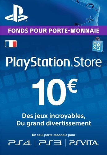 Carte Playstation Network €10 - Digizani