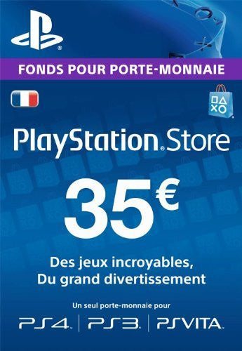 Carte Playstation Network €35 - Digizani