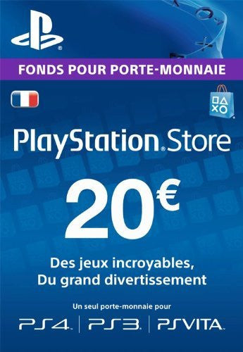 Carte Playstation Network €20 - Digizani