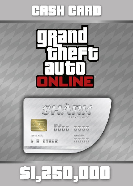 GTA V: Great White Cash Card (PC)