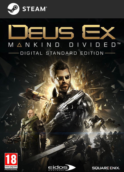 Deus Ex: Mankind Divided (PC - Pre Order)