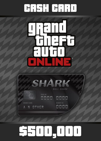 GTA Online Bull Shark Cash Card