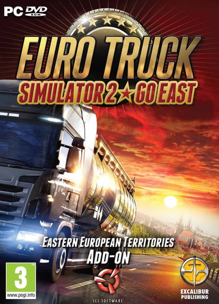 Going East DLC for Euro Truck Simulator 2