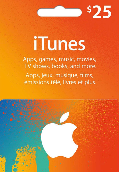 iTunes Gift Card - $25