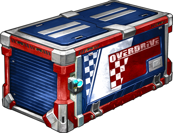 Overdrive Crate - PS4