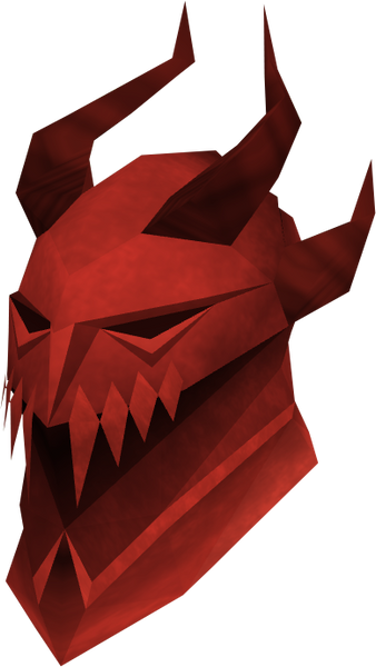 Dragon Full Helm (RS3) - Digizani